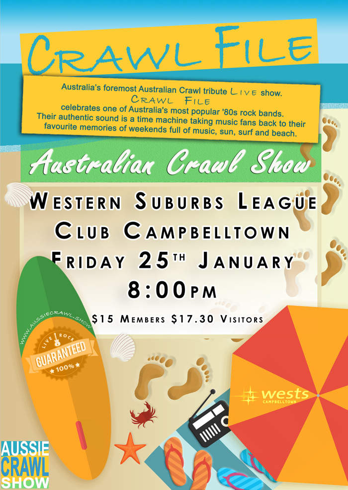 aussie crawl show sussex inlet rsl club