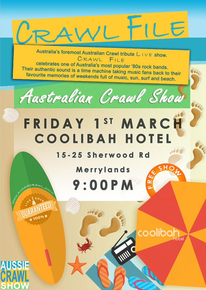aussie crawl show coolibah hotel