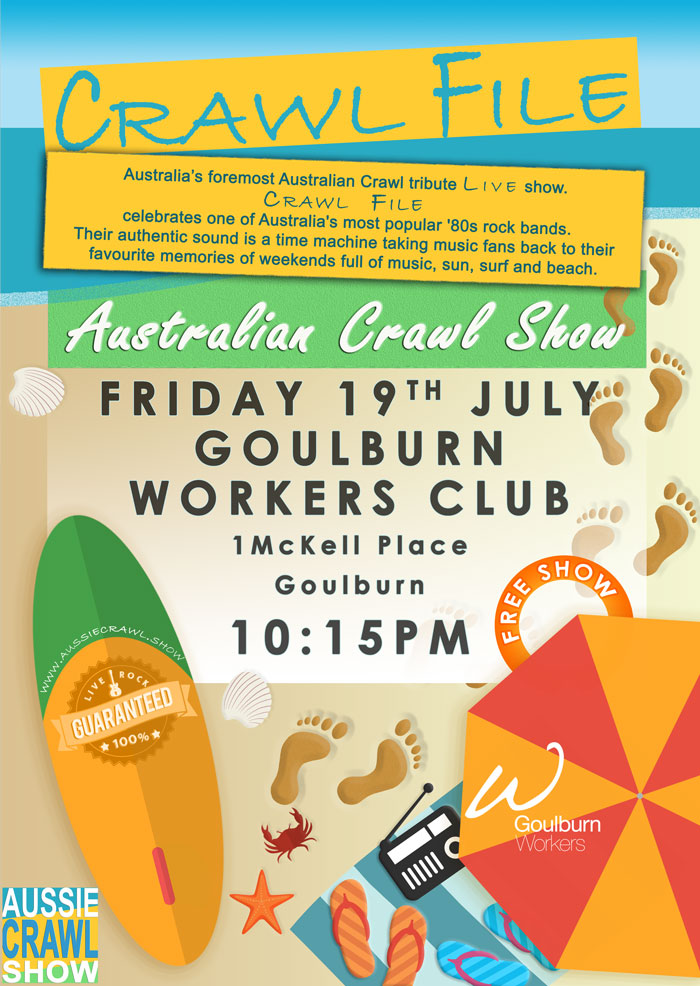Aussie Crawl Show @ The Workers Goulburn