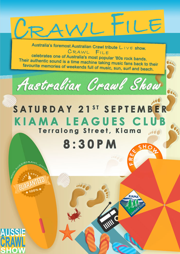 Aussie Crawl Show @ Kiama Leagues Club