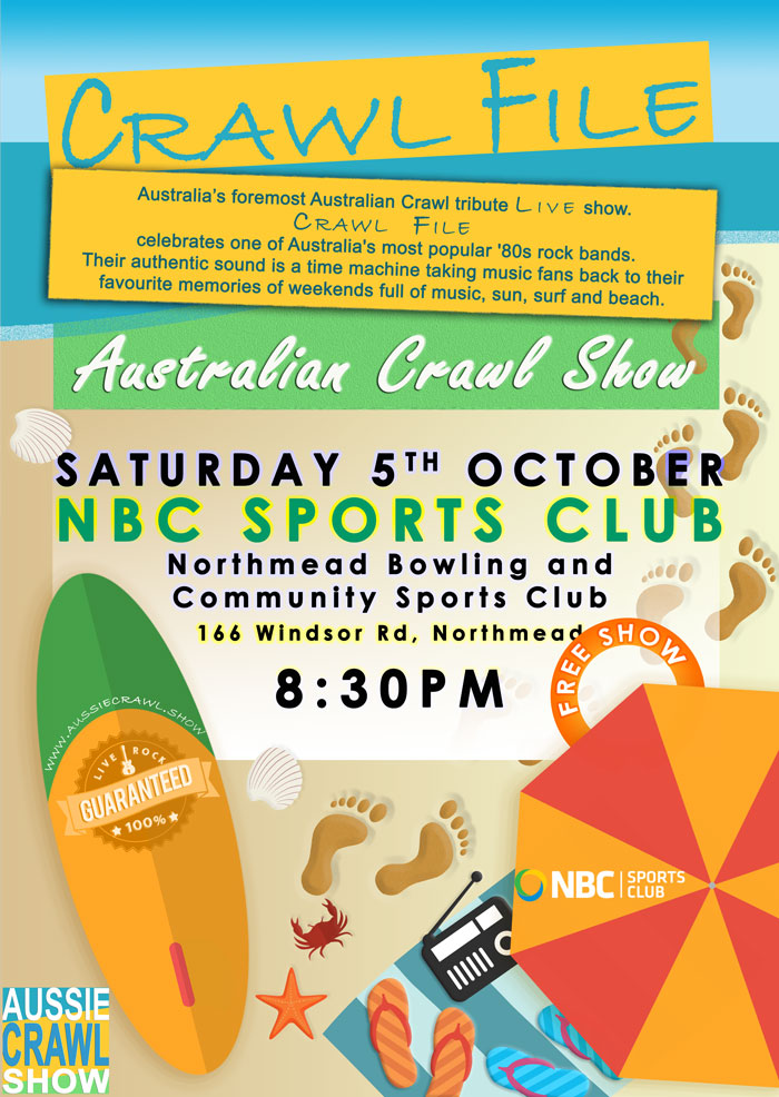 Aussie Crawl Show @ NBC Sports Club