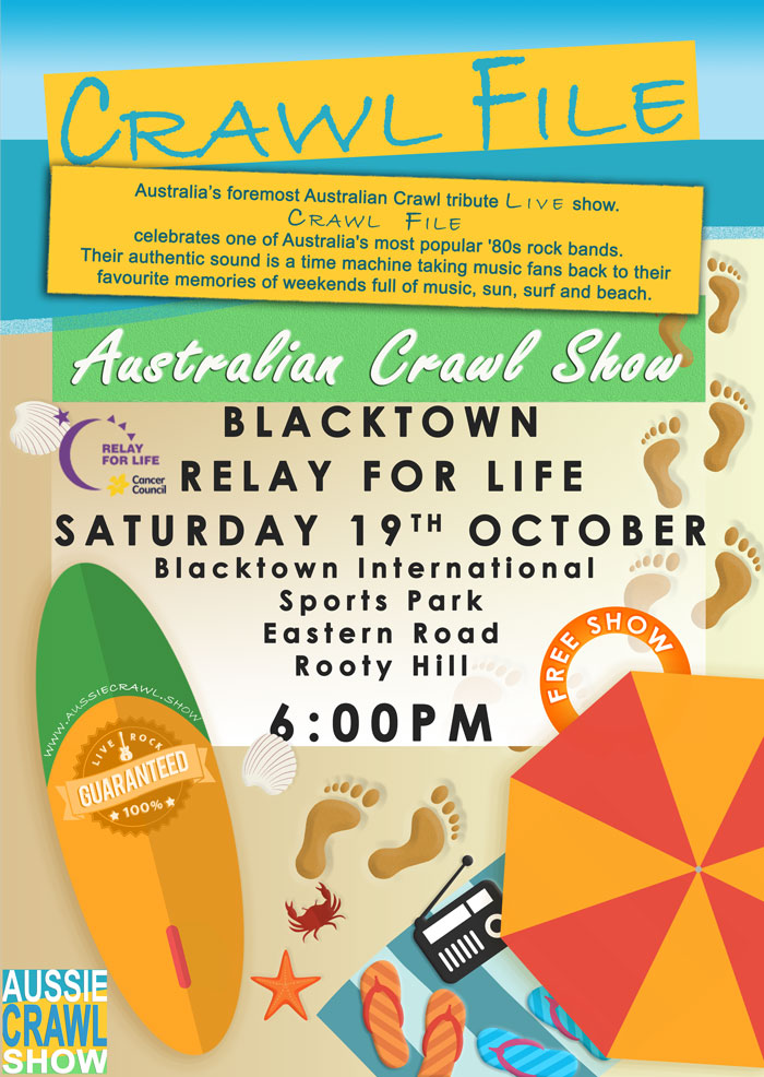 Aussie Crawl Show @ Blacktown Relay for Life