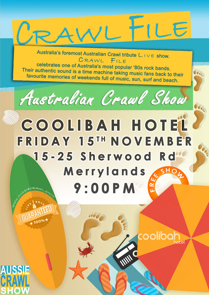 Aussie Crawl Show @ The coolibah