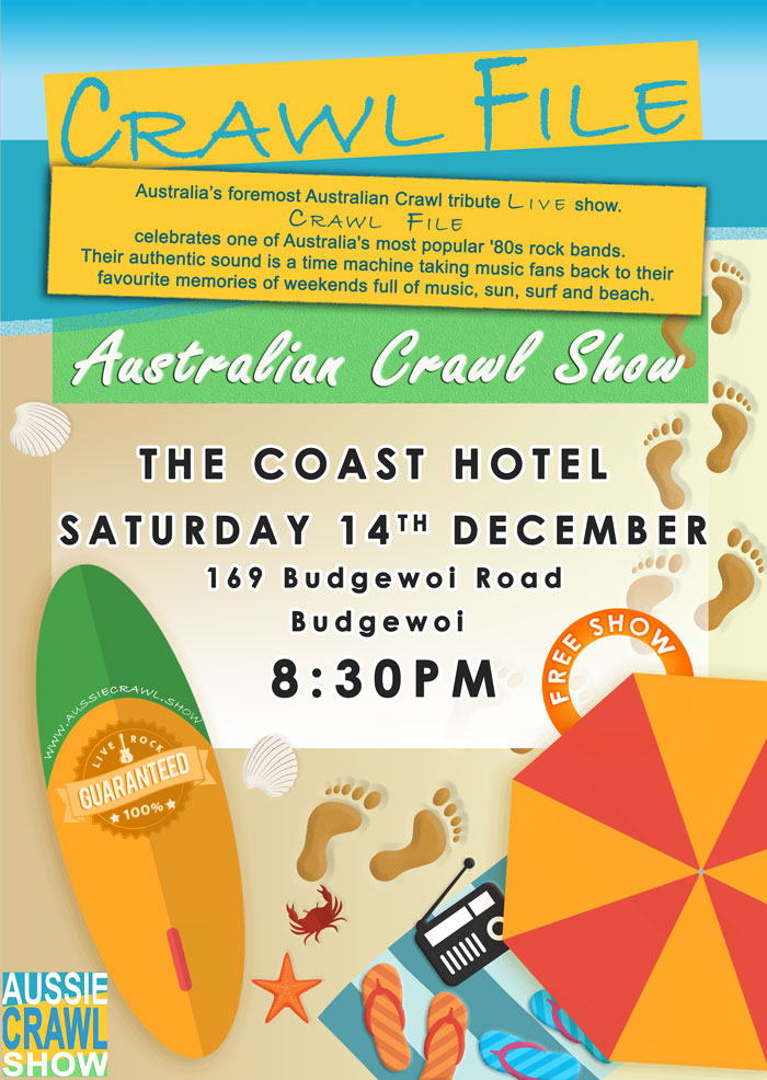 Aussie Crawl Show @ The coast hotel