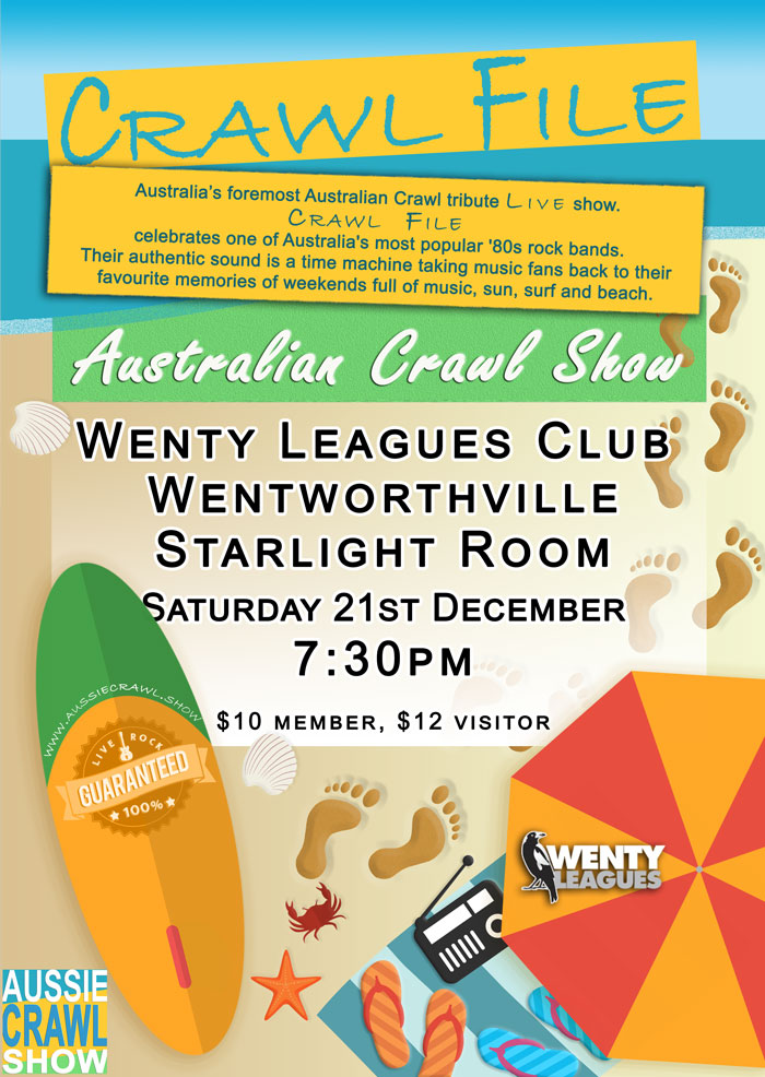 Aussie Crawl Show @ wenty leagues
